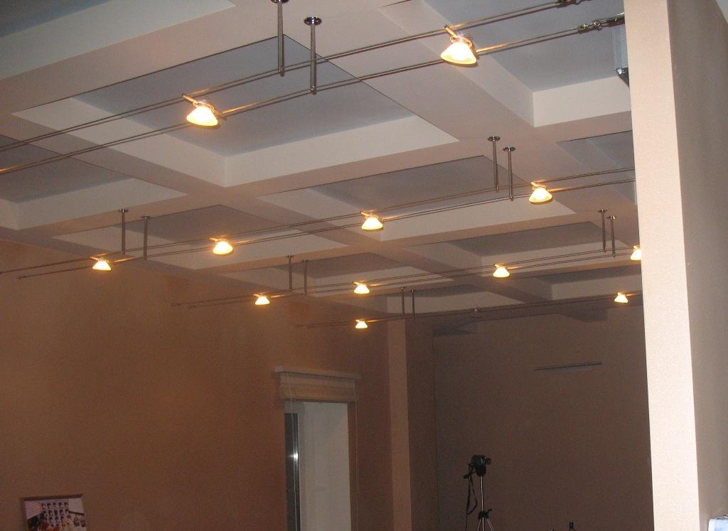Софиты для натяжных потолков фото